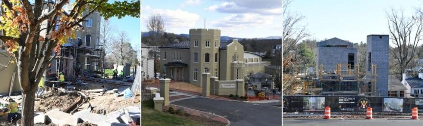 Construction and completion of new VMI Police Building