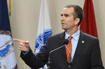 Northam speaks at VMI's Academic Convocation