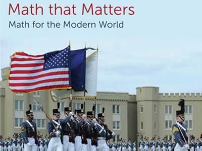 The cover of the Quality Enhancement Plan shows cadets marching across the Parade Ground.