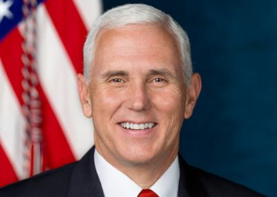 Official Portrait of Vice President Pence